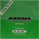 【メール便対応商品】OPTIMA オプティママンドリン弦 スペシャル 4G 2本セット