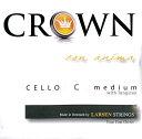 【メール便対応商品】CROWN クラウン チェロ弦 4C