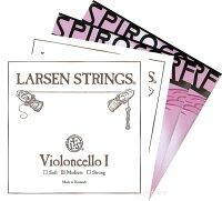 ポジティブおすすめ!チェロ弦SET5<ラーセン+スピロコア(タングステン巻)>