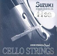 Suzukiスズキチェロ弦3G4/4〜1/10