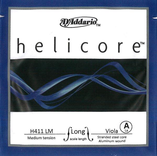 【メール便対応商品】Helicore ヘリコアビオラ弦 1A