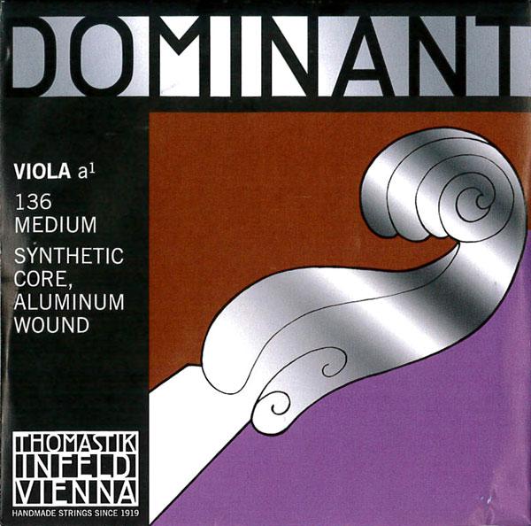 【メール便対応商品】Dominant ドミナントビオラ弦 1A(136)