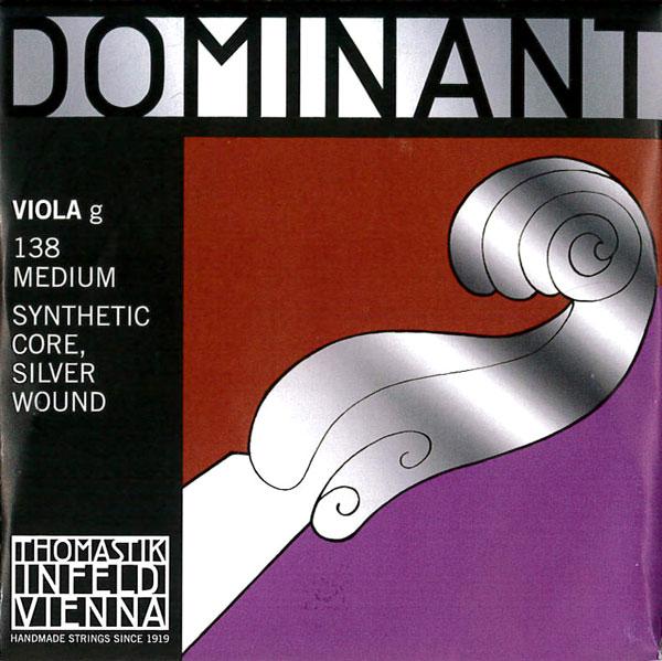 【メール便対応商品】Dominant ドミナントビオラ弦 3G(138)