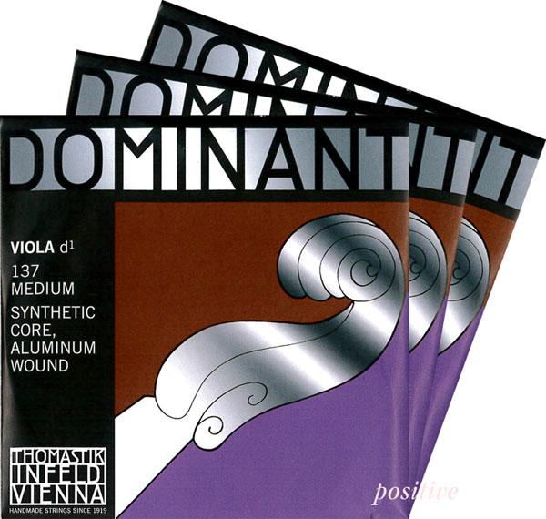 Dominantドミナント ビオラ弦 2D・3G・4Cセット