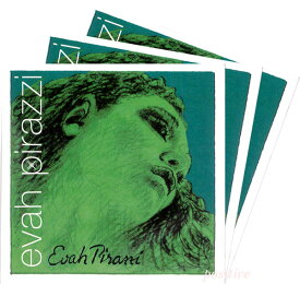 【Evah Pirazzi】エヴァ ピラッツィバイオリン弦 2A、3D、4G セット