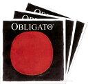 【Obligato】オブリガートバイオリン弦 2A、3D、4G セット【メール便対応商品】