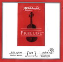 【Prelude】プレリュードバイオリン弦 4G(J814) 4/4〜1/16