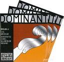 【Dominant】ドミナントバイオリン弦 2A、3D(アルミ巻)、4G セット 各サイズ