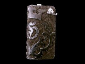 Atelier Mark Overlay Elephant Round Zip Wallet [RZ-02] GABORATORY GABOR ガボール ガボラトリー silver 正規代理店 シルバー ゴールド メンズ アクセサリー ペンダント シルバー925 10k 18k