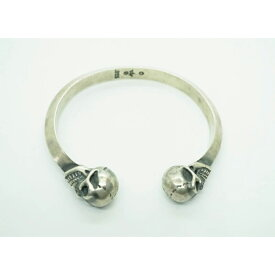 GABORATORY GABOR ガボール ガボラトリー Skull Triangle Wire Bangle [BG-16] silver 正規取扱店/シルバー メンズ アクセサリー スカル トライアングル バングル バングル 925 シルバー925