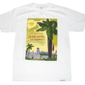DIAMOND SUPPLY CO SOUTH OF THE BORDER S/S Tシャツ (WHITE)