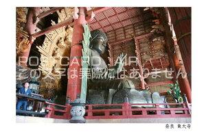 【観光地のポストカード】「奈良 東大寺」東大寺付近の葉書 ハガキ photo by MIRO