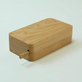 【高橋工芸】Kakudo45°木のバターケースチェリー