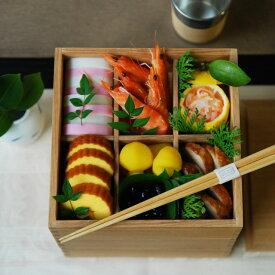【松屋漆器店×POST DETAIL】6.0三段重箱 ナチュラル 【三種仕切り付き】【送料無料】