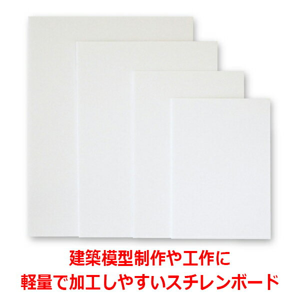 【送料無料】のりなしスチレンボード ポップコーア7mm厚3x6サイズ(900×1800mm)5枚組