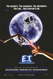 E.T 20周年 リイッシュー オリジナルポスター