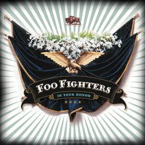 【送料¥216〜】 フー・ファイターズ Foo Fighters Eagle and Flags デラックスステッカー
