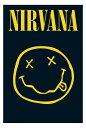 【送料¥290〜】 ニルバーナ Nirvana (Smiley) ポスター