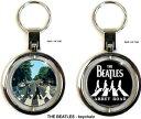 【送料¥216〜】 【ロンドン直輸入オフィシャルグッズ】ビートルズ The Beatles Key Ring (Key Chain) Spinner: Abbe...