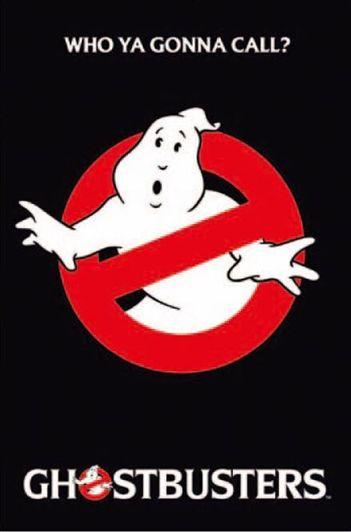 ゴーストバスターズ ポスター GHOSTBUSTERS/logo(120821)