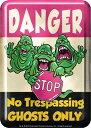 【送料¥216〜】 ゴーストバスターズ ステッカー GHOSTBUSTERS/danger (120821)