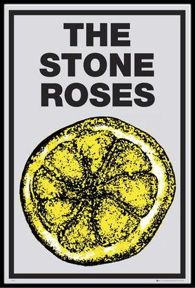 ザ・ストーン・ローゼズ THE STONE ROSES Lemon ポスター フレームセット(120713)