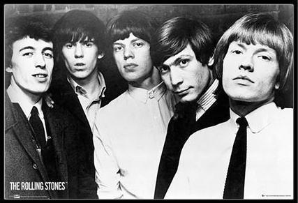 ザ・ローリング・ストーンズ ポスターフレームセット The Rolling Stones Group(130513)