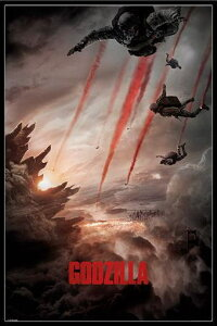 ゴジラ ポスターフレームセット Godzilla (Skydivers)(140521)