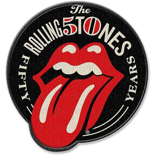 【送料¥216〜】 【ロンドン直輸入オフィシャルグッズ】ローリング・ストーンズ アイロンワッペンThe Rolling Stones: 50th Anniversary