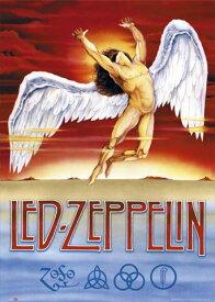 レッド・ツェッペリン ポスター Led Zeppelin Swan Song(150225)