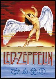 レッド・ツェッペリン ポスターフレームセット Led Zeppelin Swan Song(150225)