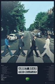 ザ・ビートルズ アビイ・ロード ポスター The Beatles Abbey Road Tracks アビー・ロード