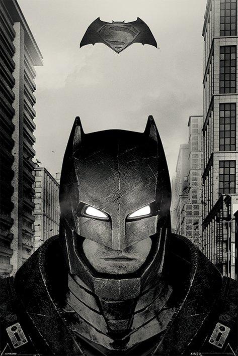 【送料¥290〜】 バットマン vs スーパーマン ジャスティスの誕生 ポスター Batman V Superman (Battle Suit)(160204)
