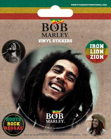 【送料¥216〜】 【ロンドン直輸入オフィシャルグッズ】ボブ・マーリー ステッカー Bob Marley
