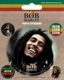 【送料¥250〜】 【ロンドン直輸入オフィシャルグッズ】ボブ・マーリー ステッカー Bob Marley