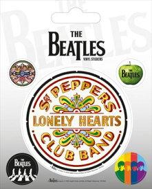 【送料¥250〜】 【ロンドン直輸入オフィシャルグッズ】ザ・ビートルズ ステッカー The Beatles (Sgt. Pepper)