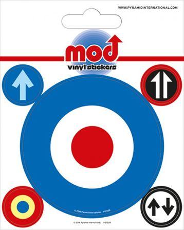 【送料¥216〜】 【ロンドン直輸入オフィシャルグッズ】ターゲット ステッカー Mod (Target)