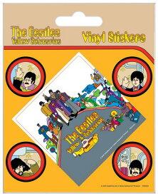 【送料¥250〜】 ビートルズThe Beatles (Yellow Submarine) ステッカー ((150409)