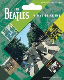 【送料¥250〜】 【ロンドン直輸入オフィシャルグッズ】ザ・ビートルズ ステッカー The Beatles (Abbey Road) (150611)