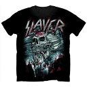 【ロンドン直輸入オフィシャルロックTシャツ】スレイヤー Tシャツ Slayer Mens Tee: Demon Storm Mサイズ(150530)