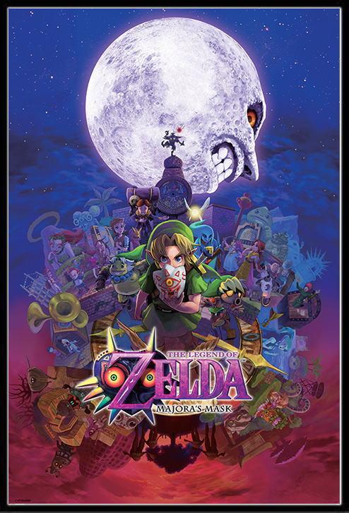 ゼルダの伝説 ポスターフレームセット The Legend Of Zelda【170303】