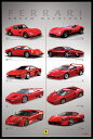 フェラーリ ポスターフレームセット  Ferrari (Dream Machines)【170405】