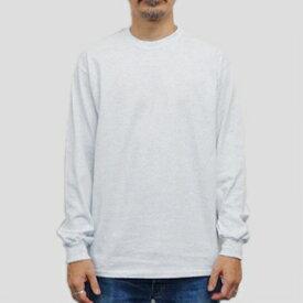 ギルダン ウルトラコットン 長袖Tシャツ GILDAN / 6oz (6オンス)ロンT USAモデル t2400as /カラー:アッシュ