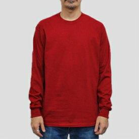 ギルダン ウルトラコットン 長袖Tシャツ GILDAN / 6oz (6オンス)ロンT USAモデル t2400cr