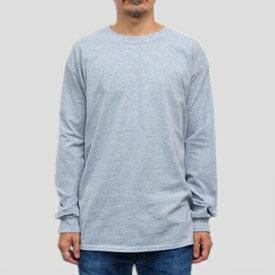 ギルダン ウルトラコットン 長袖Tシャツ GILDAN / 6oz (6オンス)ロンT USAモデル t2400gy