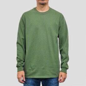 ギルダン ウルトラコットン 長袖Tシャツ GILDAN / 6oz (6オンス)ロンT USAモデル t2400mg