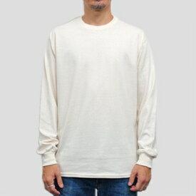 ギルダン ウルトラコットン 長袖Tシャツ GILDAN / 6oz (6オンス)ロンT USAモデル・ナチュラル t2400nt