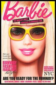 バービー ポスター フレームセット BARBIE MAGAZINE COVER バービー人形 バービーちゃん【171215】