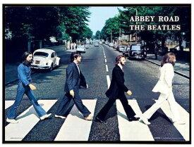 ビートルズ ミニポスターアルミフレームセット アビーロード(40cmx50cm) THE BEATLES Abbey Road