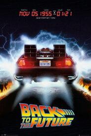 バック・トゥ・ザ・フューチャー ポスター Back To The Future Delorean デロリアン 200519